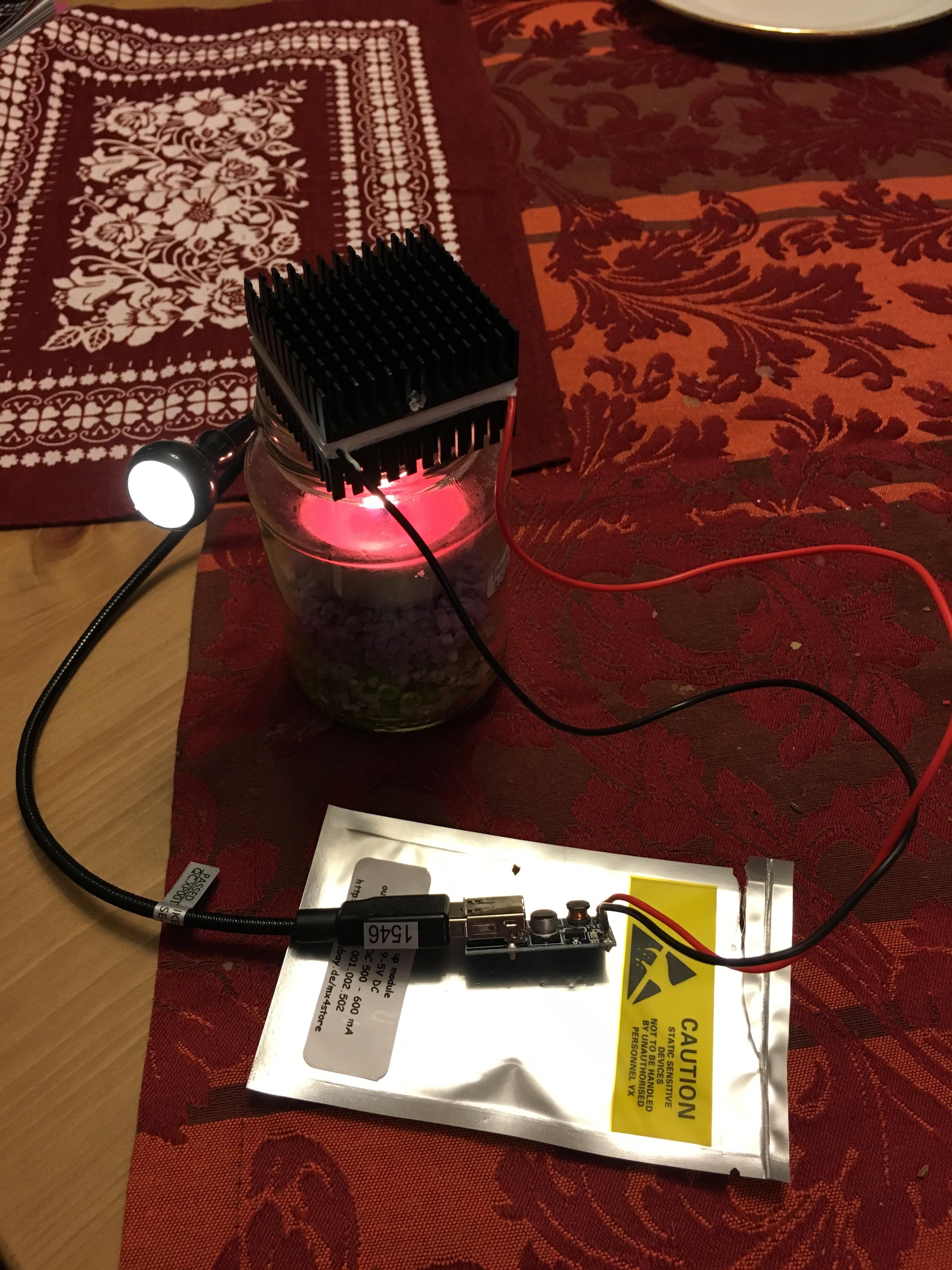 Teelicht LED-Lampe