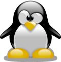 Tux Pinguin (Linux Maskottchen)